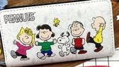 【卡漫城】 Snoopy 拉鏈 長夾 4朋友 ㊣版 史努比 PVC 皮夾 糊塗塔克 零錢包 卡片夾 皮包 查理布
