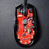 腹靈G52有線游戲鼠標競技LOL絕地求生吃雞宏RGB燈 全館八折 限時三天!