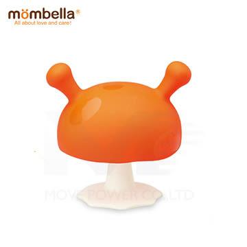 英國Mombella-Q比小魔菇固齒器-綠色