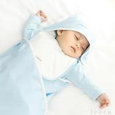 薄款嬰兒純棉包被寶寶用品蓋毯繈褓包巾被子 伊鞋本鋪