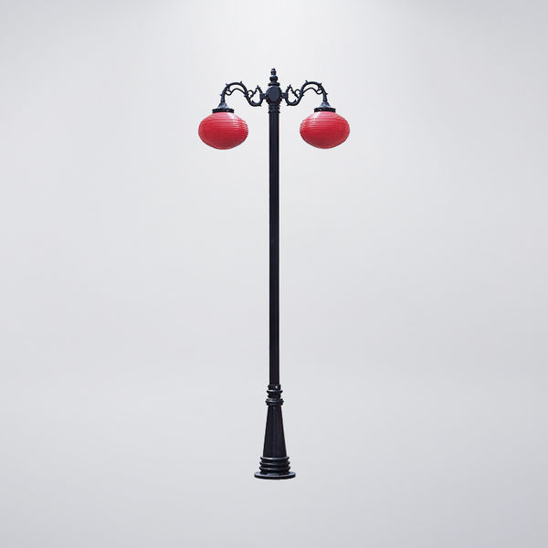 戶外庭園燈 雙燈防水型 可客製化 可搭配LED