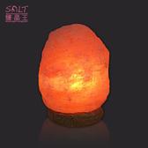 鹽燈專家【鹽晶王】正宗巴基斯坦玫瑰鹽燈4~6kg《紋石底座》《一入組》,開運必備。