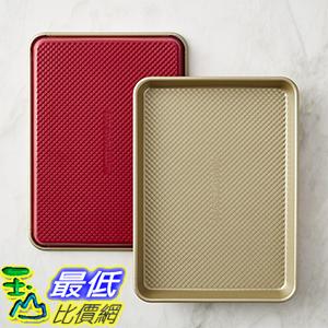 [美國直購] Williams-Sonoma Red Goldtouch Quarter Sheet Pans, Set of 2 烤盤