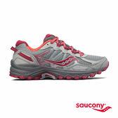 SAUCONY EXCURSION TR11 戶外越野鞋款-灰x莓果紅
