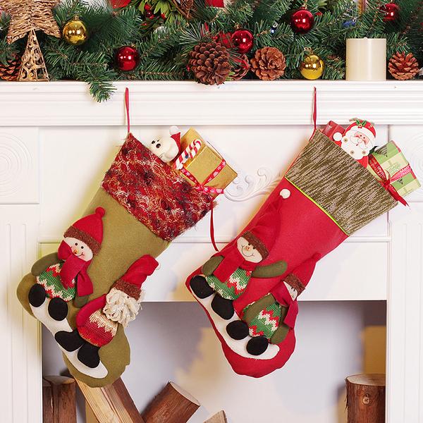 聖誕禮品38  聖誕樹裝飾品 禮品派對 裝飾 聖誕襪 禮物袋