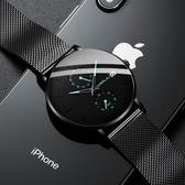 男士手錶2020新款蟲洞概念高中生手錶男學生青少年潮流防水機械錶