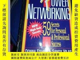 二手書博民逛書店Power罕見Networking: 59 Secrets for Personal and Profession