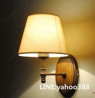 美式壁燈 田園仿古 床頭臥室樓梯燈具