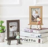 美式可愛貓咪擺台相框 6寸創意兒童卡通辦公室桌面蠢萌六寸像框