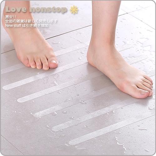 【樂樂購˙鐵馬星空】浴室樓梯透明防滑條 防滑膠帶 浴室防滑 防滑貼條 防水無痕*(Z09-035)