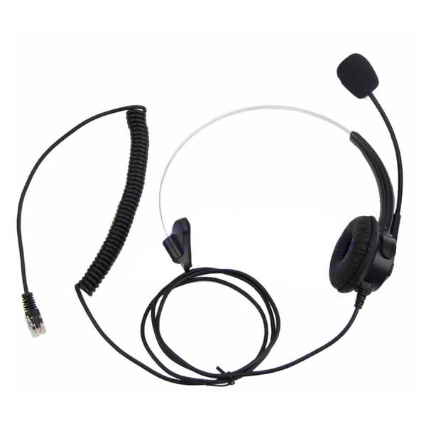 1180元客服電話機耳機降噪含靜音鍵 頭戴式電銷專用耳機 TECOM東訊DX9924E 尚有其他品牌