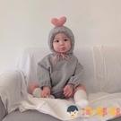嬰兒哈衣可愛連身衣女寶寶公主韓版秋季爬服【淘嘟嘟】