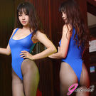 情趣睡衣 角色扮演 涼感透膚【Gaoria】萌娘神器 輕薄透明 死庫水 情趣泳衣 藍
