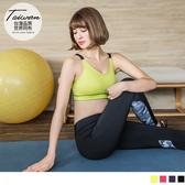 《KS0127》台灣品質.世界同布~調整型肩帶交叉露背運動背心.4色 OrangeBear