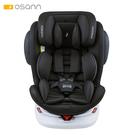 【預購8月中到貨】Osann Swift360 Plus 0-12歲360度旋轉多功能汽車座椅-曜石黑(isofix/安全帶 兩用)