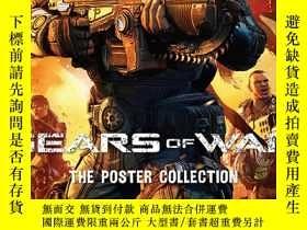 二手書博民逛書店Gears罕見of War : The Poster Collection戰爭機器海報合集,英文原版Y4499