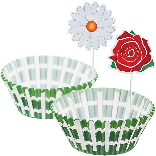 《Sweetly》蛋糕紙模裝飾組(花園)