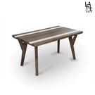 【多瓦娜】微量元素-原始工業風5尺餐桌-D05-150