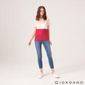 【GIORDANO】女裝縲縈混紡中腰彈力貼身牛仔褲-53 淺藍