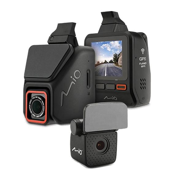 【3期零利率】全新 Mio MiVue™ 806D 星光級 隱藏可調式雙鏡頭WIFI測速行車記錄器組