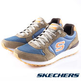 【SKECHERS 促銷5折】SKECHERS  復古休閒 OG 85  男 咖啡藍 休閒鞋 52310NTBL