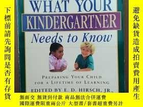 二手書博民逛書店What罕見Your Kindergartner Needs To Know Preparing Your Chi