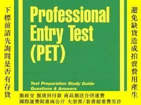二手書博民逛書店Professional罕見Entry Test (Pet) (