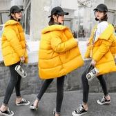 棉服女加厚羽絨棉襖女2020潮新款面包服女學生韓版中長款寬鬆 新年慶