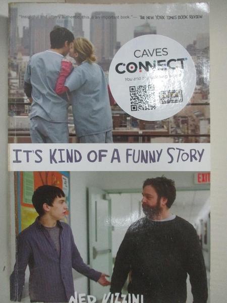【書寶二手書T5/原文小說_B23】It's Kind of A Funny Story_Vizzini, Ned