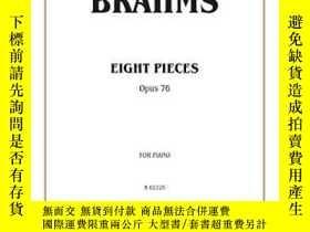 二手書博民逛書店Eight罕見Pieces, Op. 76-八件套,作品76Y436638 不祥 Alfred Music,