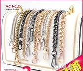 金属链条配件带单买斜跨背包单肩带单卖包带子女铁链替换包包链子 可然精品