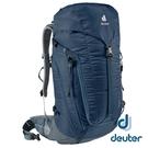 【德國 deuter】TRAIL 輕量拔熱 透氣背包30L『深藍』3440521 登山.露營.休閒.旅遊.戶外.後背包.手提包