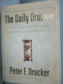 【書寶二手書T3/財經企管_IHG】The Daily Drucker_Peter
