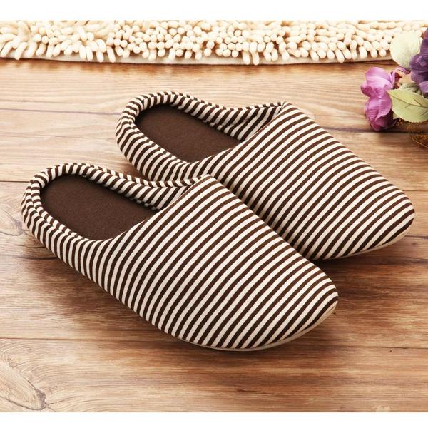 室內 拖鞋 【2入】 【創意巴巴】 日式 厚底 保暖 防滑 室內拖/情侶拖 焦糖咖