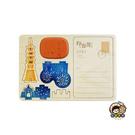 【收藏天地】印章明信片*台北煙火 ∕  印章 擺飾 送禮 趣味 文具 創意 觀光 記念品