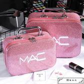 女化妝包大容量小號便攜韓國簡約可愛洗漱品收納盒大號化妝箱手提