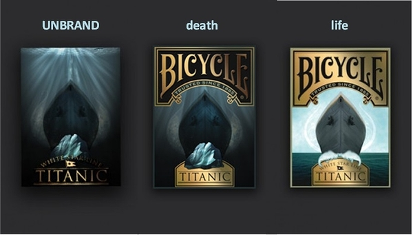 【USPCC 撲克】Bicycle Titanic PLAYING CARDS 鐵達尼號