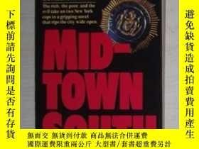二手書博民逛書店英文原版罕見Mid-town South by Christop