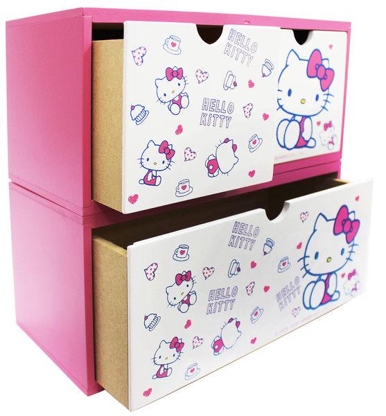【震撼精品百貨】Hello Kitty 凱蒂貓~HELLO KITTY 多多積木單抽收納盒