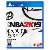 Sony PS4 遊戲片 NBA 2K19 美國職業籃球 2019《中文版》