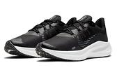 NIKE系列- WMNS NIKE WINFLO 7 SHIELD 女款黑色耐磨底氣墊運動慢跑鞋- NO. CU3868001