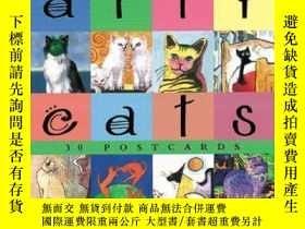 二手書博民逛書店Arty罕見Cats: Postcard BookY256260 Baird, David Stewart,