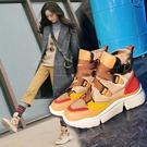 新款馬丁靴女英倫風學生韓版百搭春秋單靴子chic機車瘦瘦女靴
