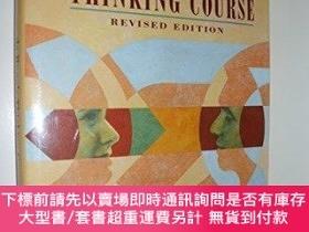 二手書博民逛書店De罕見Bonos Thinking Course-德博諾思維課程Y364727 Edward De Bono