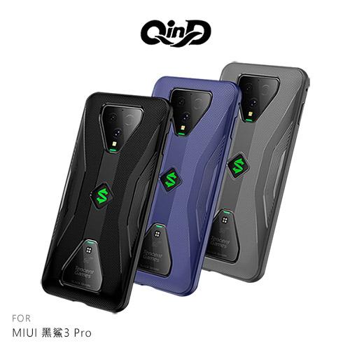 摩比小兔~QinD MIUI 黑鯊3 Pro 全包散熱手機殼 #全包邊 #支援卡扣遊戲手把