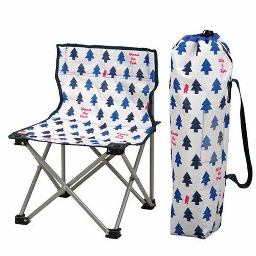 BabyPark 日本鹿牌Captain Stag 迪士尼聯名款 小熊維尼折疊野餐椅 露營椅 Disney POOH