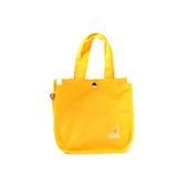 KANGOL 側背包 帆布袋 黃色 6955301660 noA39