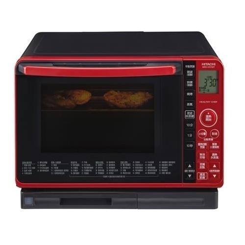 【聖影數位】ACCES HITACHI日立 22L 過熱水蒸氣烘烤微波爐 MROVS700T 晶鑽紅 產品代碼4P105