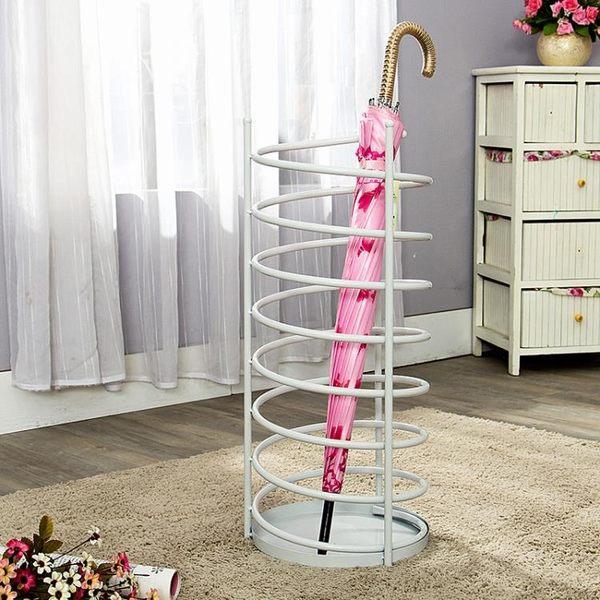 家用鐵藝雨傘架 盛水雨傘桶門廳雨傘收納掛傘架酒店  AB4670  【3C環球數位館】