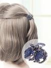 髮夾 后腦勺網紅發卡小號女韓國頭飾劉海夾頭發的夾子小抓夾頭頂夾 莎拉嘿呦